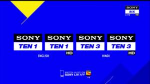sony ten 3 live updates